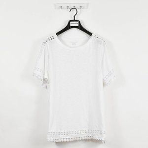 Style & Co Women's Plus White Pullover Top Shirt